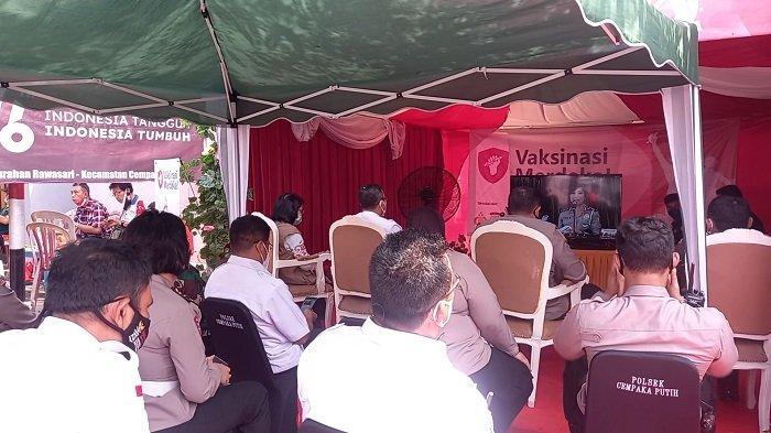 Polres Metro Jakarta Pusat Siapkan 44 Titik Vaksinasi Merdeka hingga 17 Agustus 2021