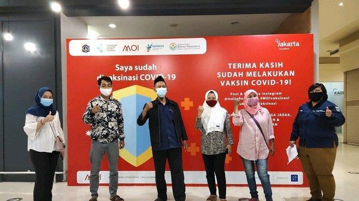 Pemkot Jakarta Utara Mulai Vaksinasi Pelaku UMKM Binaan di Tiga Lokasi