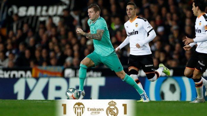 Hasil Lengkap Liga Spanyol, Real Madrid Nyaris Tumbang dan Gagal Gusur Barcelona di Puncak Klasemen