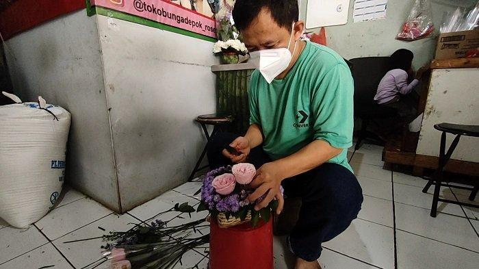 ABG di Kota Tangsel Banyak Memburu Sekuntum Bunga Mawar Jelang Momen Perayaan Valentine