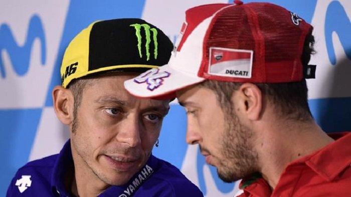 Andrea Dovizioso Tidak Ingin Ikuti Jejak Valentino Rossi