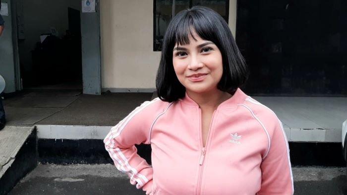 Vanessa Angel di TransTV, Mampang Prapatan, Jakarta Selatan, Minggu (24/1/2021).