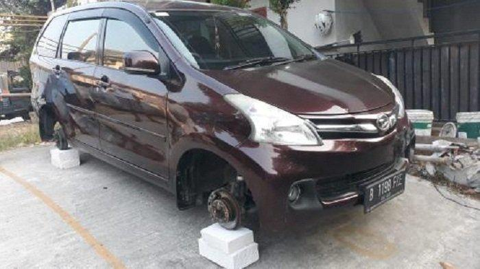 VIRAL Video Maling Gondol Ban dan Velg Mobil di Bekasi, Polisi Janji Usut