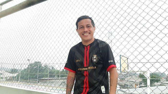 Vennard Hutabarat, legenda Timnas Futsal Indonesia yang pernah berkarier sebagai pesepakbola bersama klub Persija Jakarta.