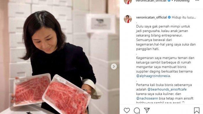 Tak lagi Bersama Ahok, Veronica Tan Kini Jualan Daging : Hidup Itu Lucu