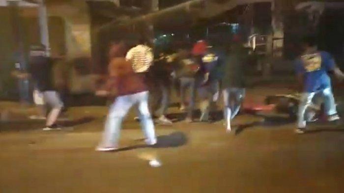 Kanitreskrim Polsek Leuwiliang Iptu Asep Jamiat Sebut Video Viral Tawuran Perang Sarung adalah Hoax