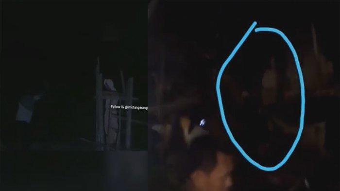 VIDEO Penampakan Pocong di Tangerang Viral di Medsos, Warga Dibuat Ketakutan