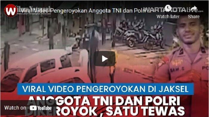 Polda Metro Jaya Identifikasi Semua Pihak Terkait Pengeroyokan Anggota Polri dan TNI di Obama Cafe