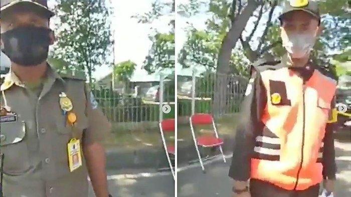 VIDEO Viral Wanita Minta Paksa Hasil Swab Petugas Penyekatan di Suramadu, Berikut Respon Polda Jatim