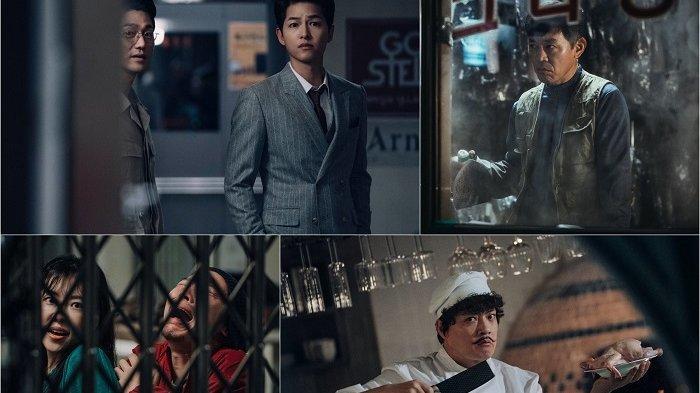 Adegan dalam drama Korea Vincenzo yang dibintangi Song Joong Ki