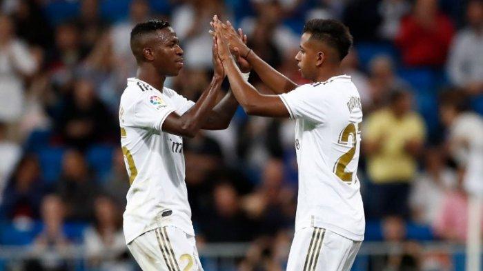 Starting XI Granada vs Real Madrid, El Real Turunkan Duo Brasil Rodygo dan Vinicius Junior