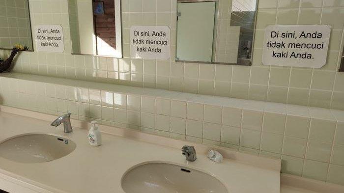 VIRAL Tulisan Berbahasa Indonesia di Toilet Jepang, Ini Kronologinya