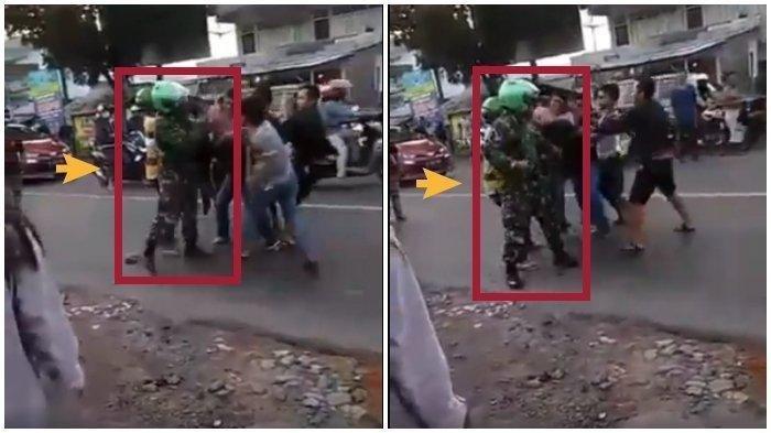 Viral Video Anggota TNI Angkatan Laut Dikeroyok 4 Pemuda, Begini Nasib Pelaku