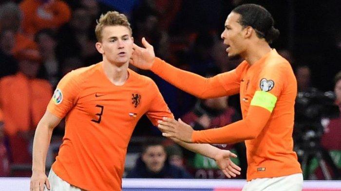 Ronaldo Koeman Siapkan Virgil Van Dijk dan Matthijs De Ligt Hadapi Estonia
