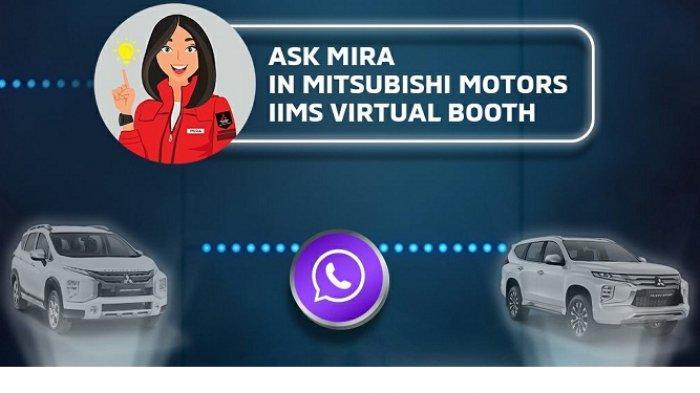Ingin Tahu Layanan dan Produk Mitsubishi di IIMS Hybrid Bisa via Virtual Assistance MIRA di WhatsApp