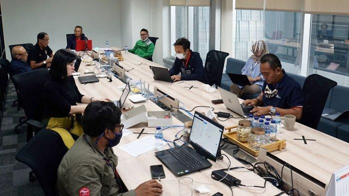 PT LIB melakukan virtual club meeting Liga 2 selama 3 jam, Selasa (11/8/2020)