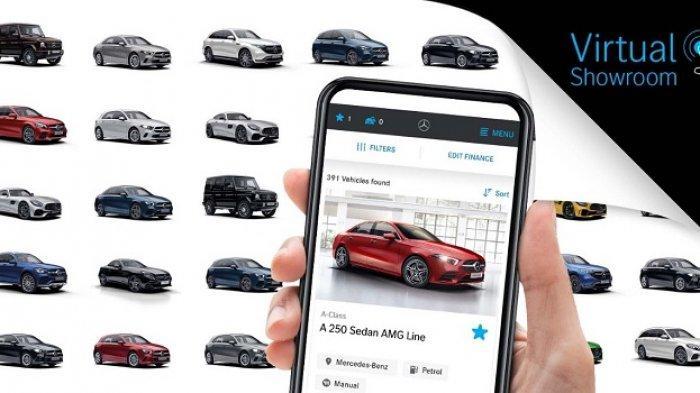 Tingkatkan Pengalaman Belanja Online, Mercedes-Benz Indonesia Kenalkan Virtual Showroom
