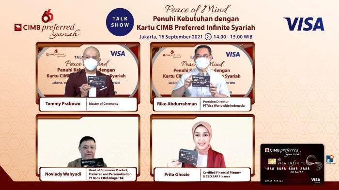 Kartu CIMB Preferred Visa Infinite Syariah Pertama di Indonesia yang Diluncurkan Visa dan CIMB Niaga