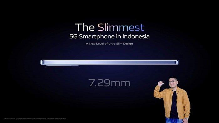 VIVO V21 Resmi Meluncur, Ponsel 5G Paling Tipis Pertama di Indonesia, Berikut Spesifikasi Lengkapnya