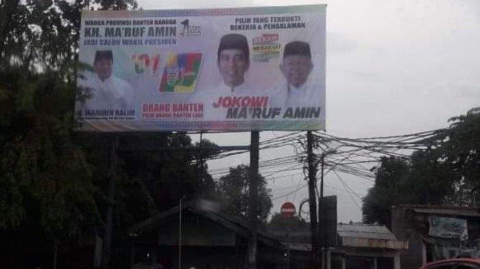 Wahidin Halim Dilaporkan ke Bawaslu Terkait Pelanggaran Pemilu karena Reklame Jokowi dan Maruf Amin