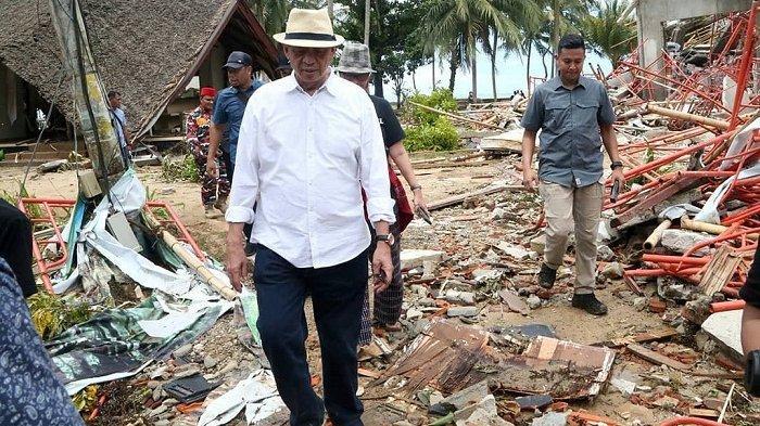 Masa Tanggap Darurat Tsunami Selat Sunda Dicabut, Ini yang Dilakukan Pemprov Banten