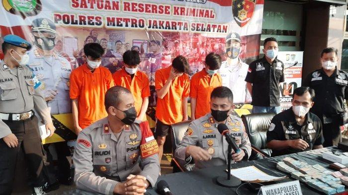 Kuras Brankas Uang dan Rokok di Minimarket Pancoran untuk Kebutuhan Lebaran, 4 Pelaku Dibekuk Polisi