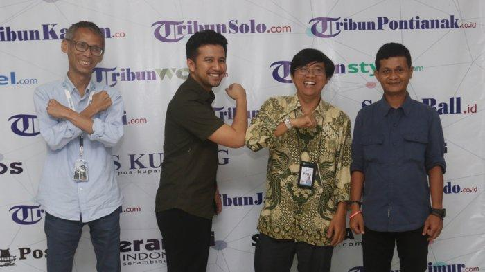VIDEO: Emil Dardak ke Kantor Tribunnews, Bahas Corona Hingga Kebijakan Jawa Timur