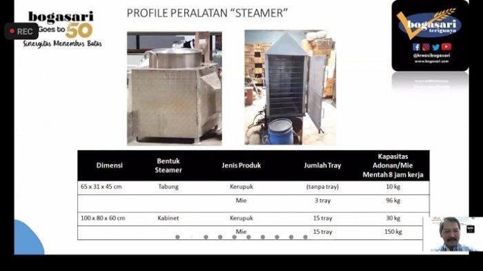Bogasari dan ITS Surabaya Uji Komersial Mesin Pengering Mie dan Kerupuk untuk UMKM, Ini Harganya