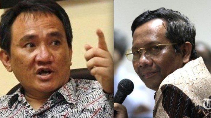 Mahfud MD Sindir Andi Arief, Sempat Berseteru Soal Informasi Hoaks 7 Kontainer Surat Suara Tercoblos