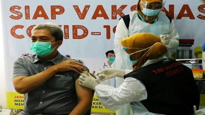 Inilah 10 Pejabat Kota Bogor yang Disuntik Vaksin Covid-19 Dosis Kedua. Ada Brigjen TNI Achmad Fauzi