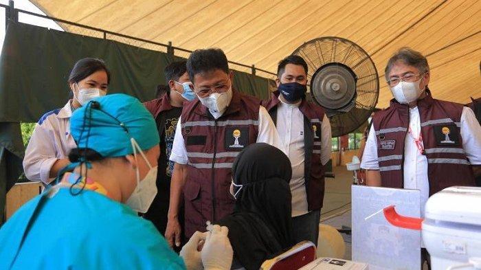 Sachrudin Apresiasi Semangat Kolaborasi Swasta Membantu Pemkot Tangerang Mempercepat Herd Imunity