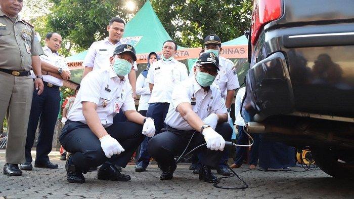 VIDEO: Uji Emisi Tahap Dua Digelar di Kantor Wali Kota Jakarta Utara