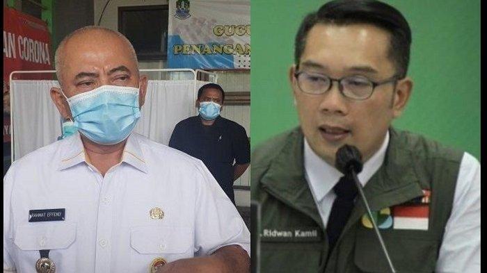 Ridwan Kamil Daulat Kota Bekasi Sebagai Kota Terpatuh Terapkan 3M, Rahmat Effendi Balas Apresiasi