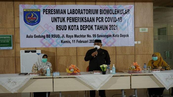 Pemeriksaan Sampel Pasien Covid-19 di RSUD Kota Depok Kini Bisa Cepat Setelah Tambah Alat Ini