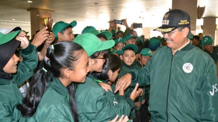 Marullah Matali Lepas 828 Pelajar ke  Ajang POPPROV DKI, Kontengen Jakut Target Juara Umum
