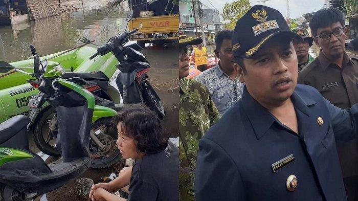 HAMPIR Sepekan Kebanjiran, Warga Tangerang: Itu Wali Kota Bolak-balik ke Sini Mulu Mana Hasilnya?