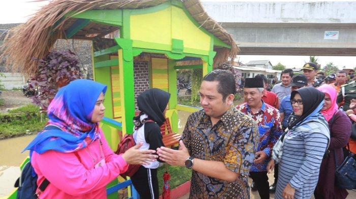 Wali Kota Tangerang Resmikan Taman Kreatif di Bantaran Cisadane