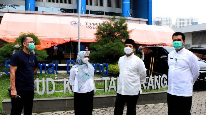 Tempat Tidur Perawatan di RSUD Menipis, Wali Kota Tangerang Minta Warga Waspadai Penyebaran Covid