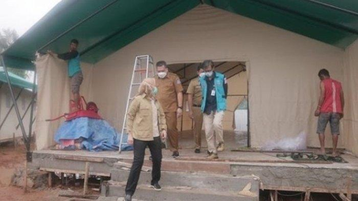 Airin Rachmi Diany Umumkan Penambahan 150 Tempat Tidur di Rumah Lawan Covid di Tangsel