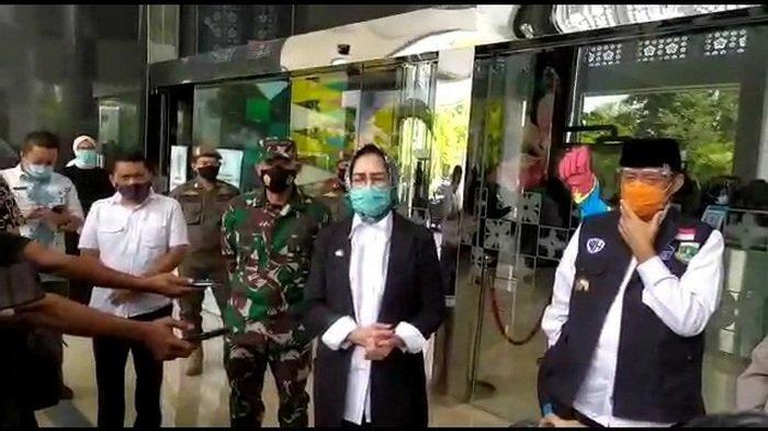 Warga Jakarta Banyak Kunjungi Tangsel saat Penerapan PSBB, Ini Jawaban Wahidin Halim dan Airin