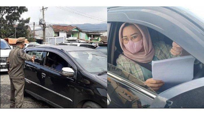 Rakyatnya Putar Balik, Wanita Anggota DPRD Bawa Toyota Fortuner Ini Lolos Tanpa Surat Bebas Covid-19