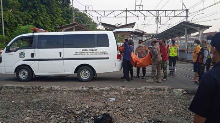 Wanita Tanpa Indentitas Ditemukan Tak Bernyawa di Pinggir Rel KA Stasiun Kebayoran Lama