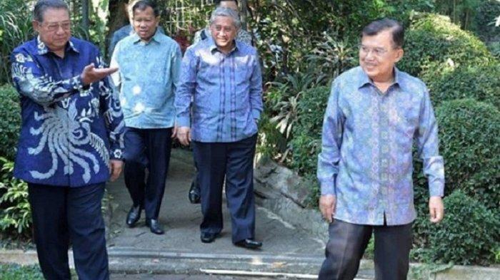 Wapres JK Terkenang Kaleng Krupuk Ani Yudhoyono, SBY: Saya Masih Menata Hati