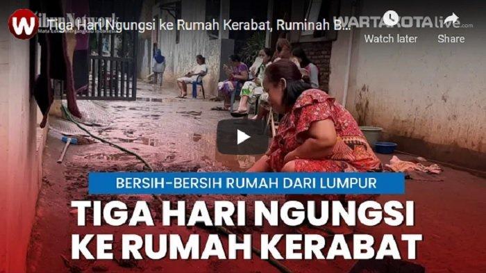 VIDEO Tiga Hari Ngungsi ke Rumah Kerabat, Ruminah Bersih-bersih Rumahnya di Cipinang Melayu