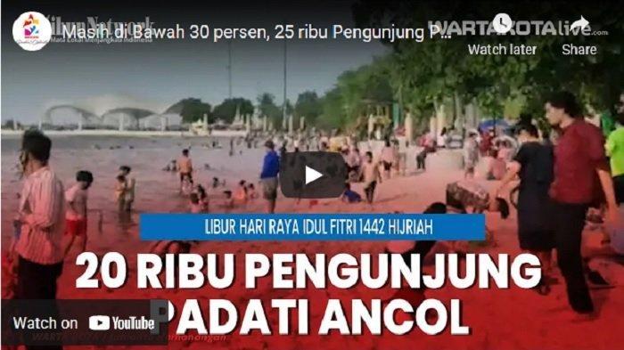 VIDEO 25 Ribu Warga Jakarta Padati Taman Impian Jaya Ancol SaatLibur Hari Raya Idul Fitri 1442 H
