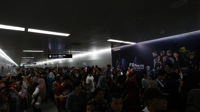 Terungkap, Kehilangan Ribuan Penumpang saat Listrik Padam, MRT Jakarta Rugi Rp 507 Juta