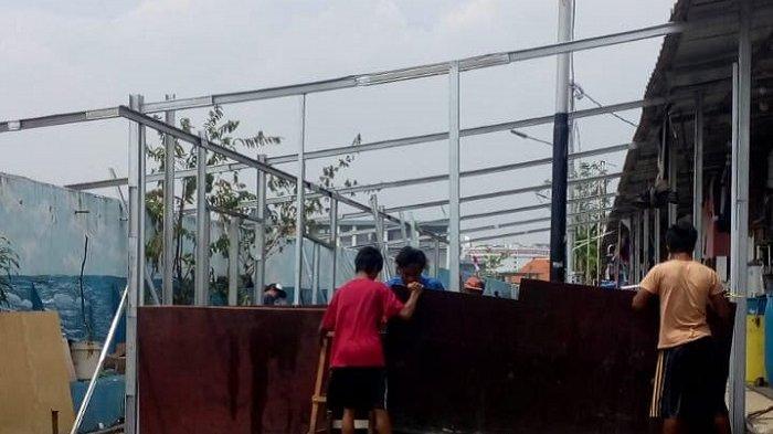 Pembangunan Kampung Susun, Shelter Warga Kampung Akuarium Dipindah Sementara