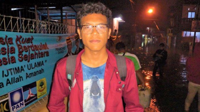 Besok Mau UNBK Malah Kebanjiran, Alfin Terpaksa Mengungsi ke Rumah Temannya