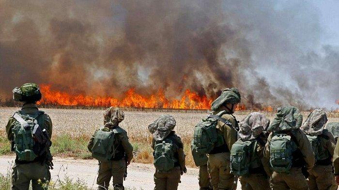 Palestina Luncurkan 1.600 Roket ke Wilayah Israel