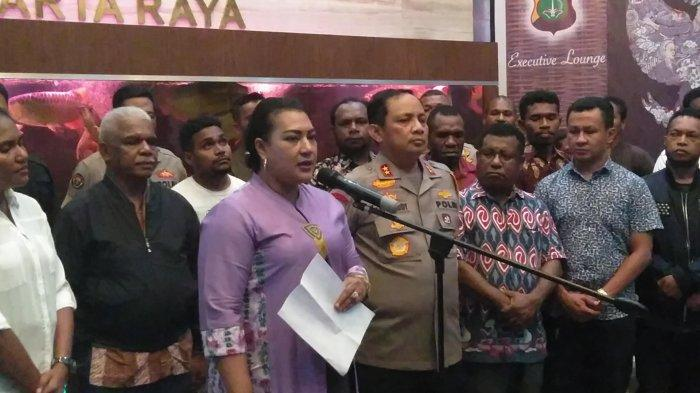 VIDEO: Ini 7 Permintaan Warga Papua di Jabodetabek ke Kapolda Metro Jaya